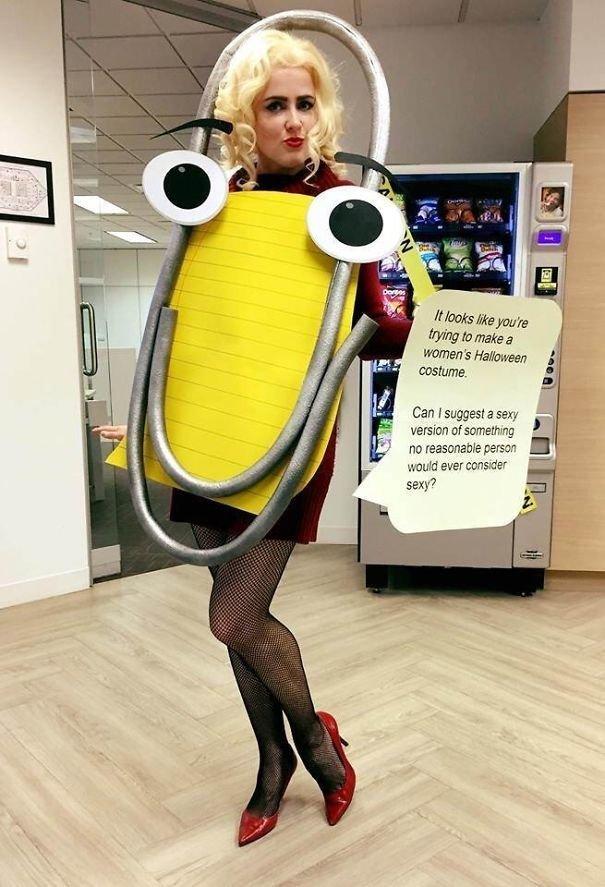 9. Помощник-скрепка (Скрепыш) из Word Хэллоуин дети, Хэллоуин костюм, Хэллоуин. костюм, маскарадные костюмы, маскарадный костюм, наряд на хеллоуин, праздник, хэллоуин