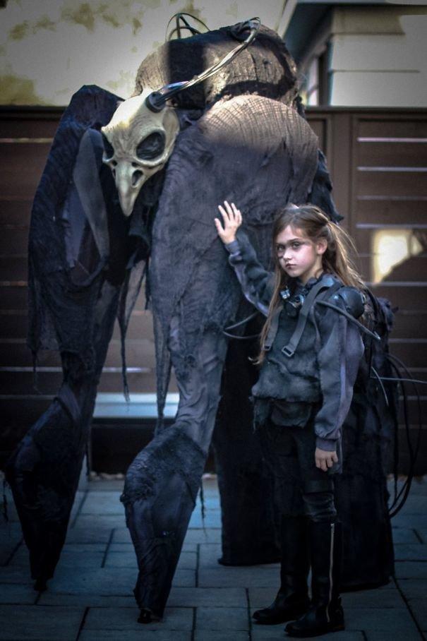 4. Ужас, летящий на крыльях ночи Хэллоуин дети, Хэллоуин костюм, Хэллоуин. костюм, маскарадные костюмы, маскарадный костюм, наряд на хеллоуин, праздник, хэллоуин