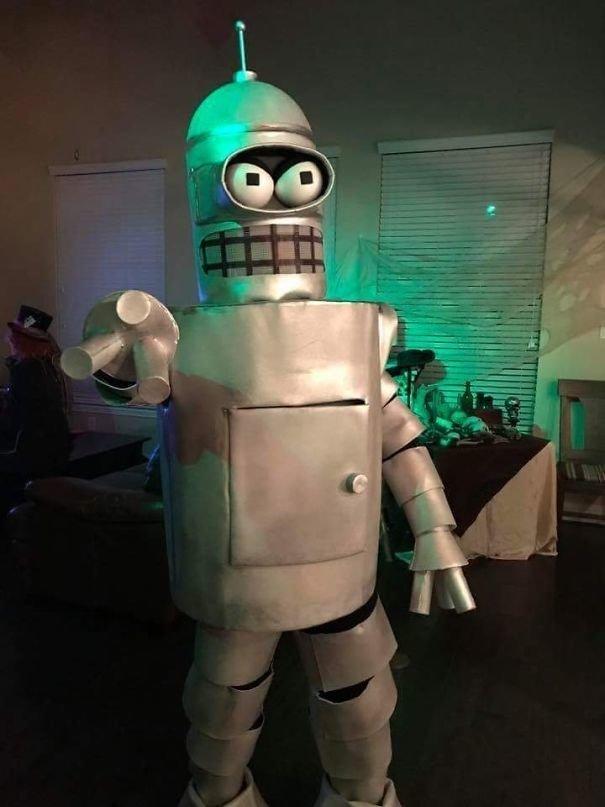 """22. Робот Бендер (""""Футурама"""") Хэллоуин дети, Хэллоуин костюм, Хэллоуин. костюм, маскарадные костюмы, маскарадный костюм, наряд на хеллоуин, праздник, хэллоуин"""