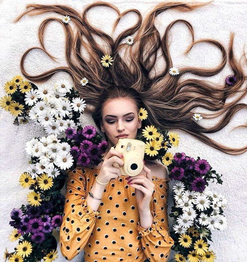 Смешная картинка про волосы, люблю тебя оксана