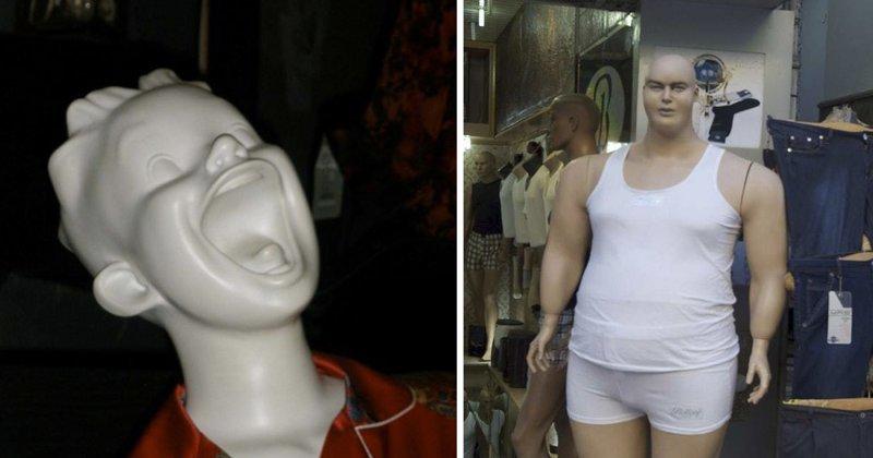 15 примеров того, что и манекены умеют веселиться