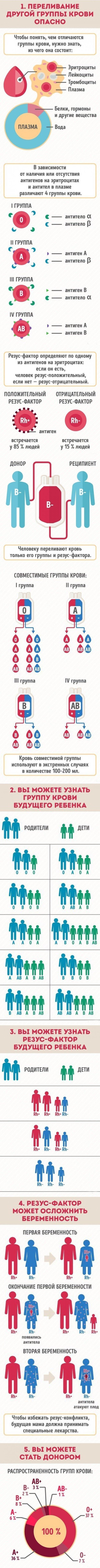 Немного о крови график, информация, факты