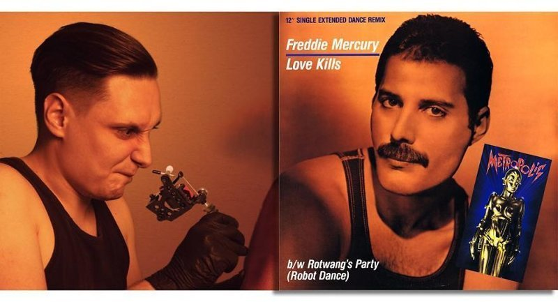 43. Freddie Mercury — Love Kills (1984)