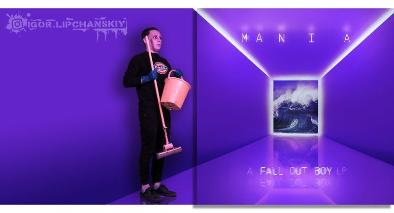 23. Fall Out Boy - M A N I A (2018)