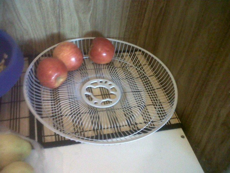 7. А это еще один дачный вариант для хранения или сбора овощей и фруктов вентилятор, из старых вещей, интересно, очумелые ручки, своими руками, утилизация, фото