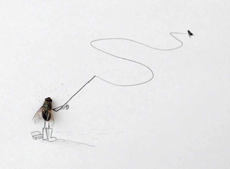 Статус картинки, и вот полетели белые мухи прикольные стихи картинки
