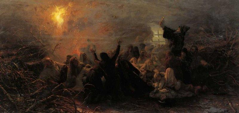 Гари и скопцы апокалипсис, история, конец света, предки, религия, русь
