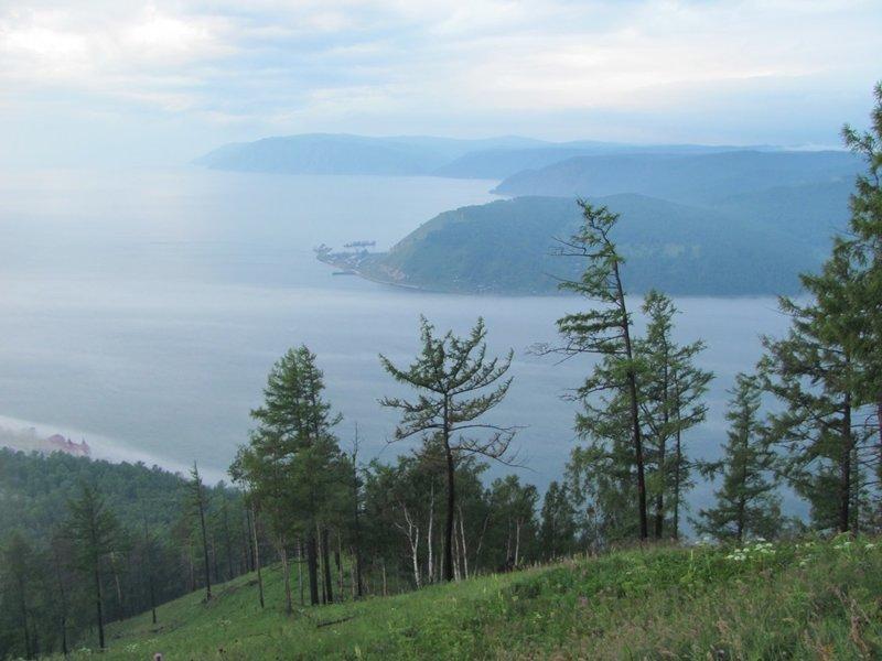 Исток Ангары из Байкала