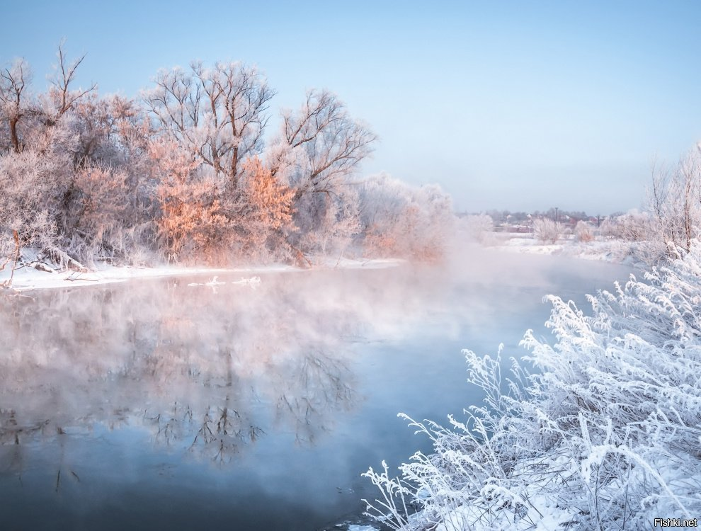 Зимнего утра картинки