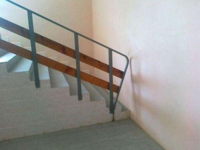 1. Лестница в Хогвартс дизайн, ляпы, подборка, ремонт, строительные маразмы, строительство, фото, юмор