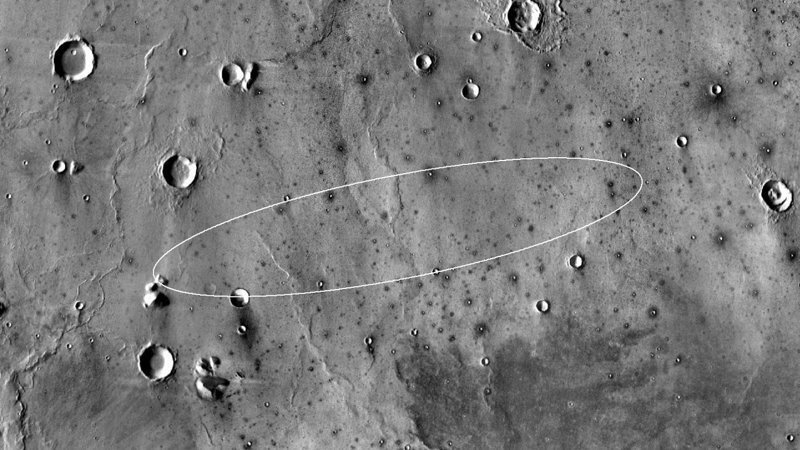 Аппарат произвел успешную посадку в районе нагорья Элизий InSight, nasa, ynews, космос, марс, новости, фотография
