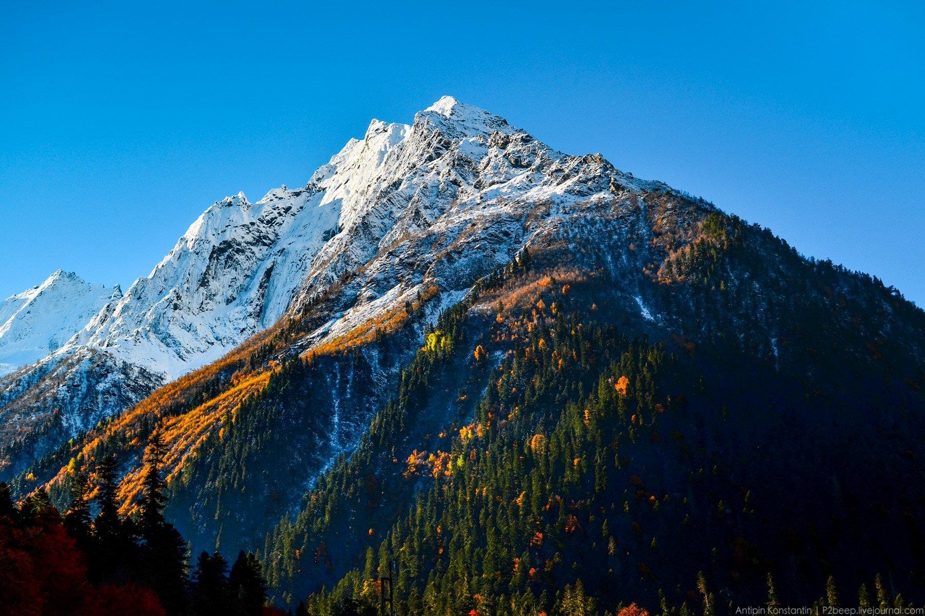 позиций, картинки горы красивые домбай освоения
