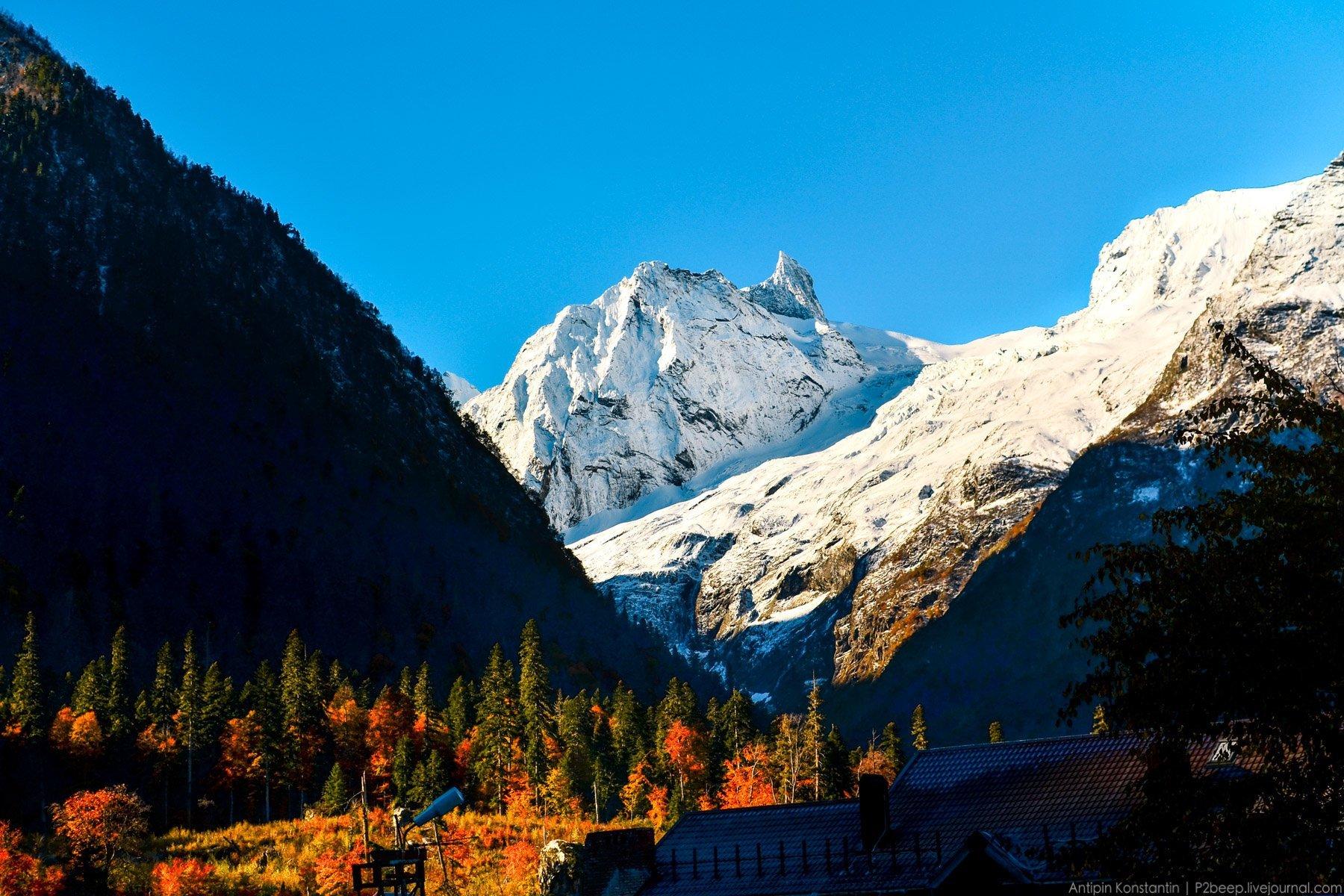 хорошем картинки горы красивые домбай вот