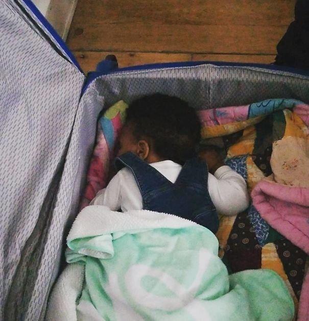 В гостях можно спать и в чемодане... Лайфхак, дети, крутые идеи, родители, смешно