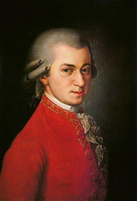 Вольфганг Амадей Моцарт знаменитости, люди, факты
