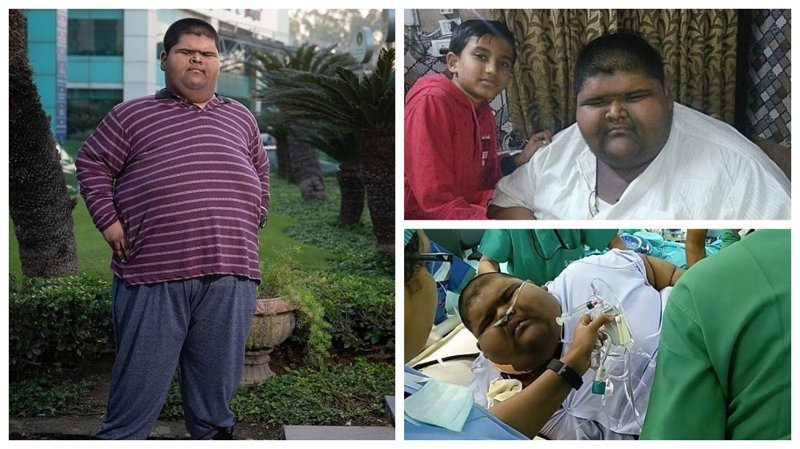 Мальчик Похудел Фото. «Самый толстый мальчик в мире» похудел в два раза и смог встать с кровати