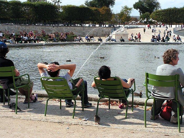 3. Отдыхающие в Париже в нужный момент, в тот самый момент, фото, юмор