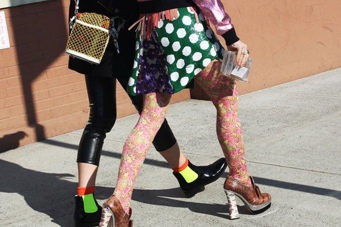 Совет 7 - слишком много цвета и не сочетаемых деталей могут навсегда испортить ваш образ Стиль, мода, модники, ошибки, что это, юмор