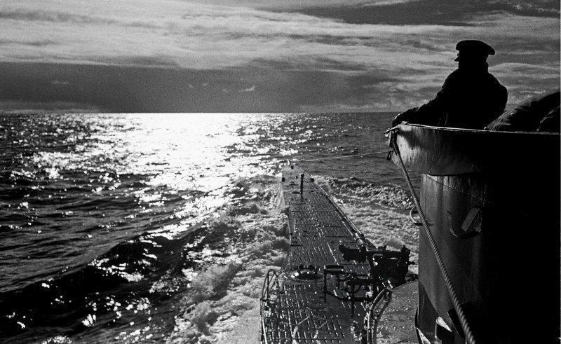 Немецкая подводная лодка U-96 в походе Великая отечественая война, архивные фотографии, вторая мировая война