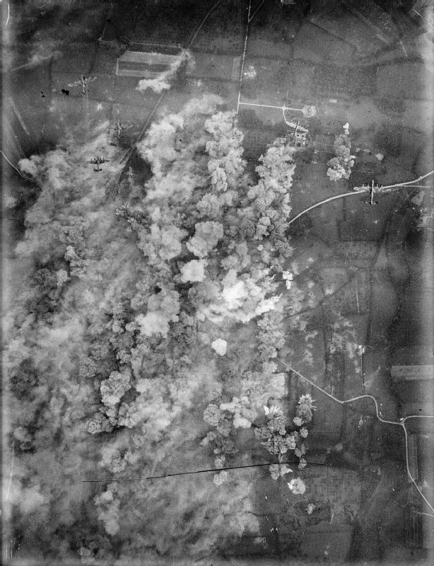 Англичане утюжат Вилле-Бокаж. 30 июня 1944 г. Великая отечественая война, архивные фотографии, вторая мировая война