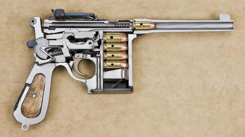 13. Пистолеты Shansei Arsenal 45 ACP в разрезе, вещи в разрезе, интересно, пополам, фото