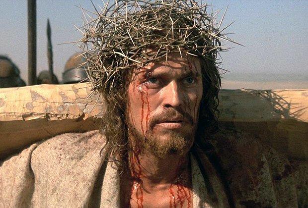 Уиллем Дефо в фильме «Последнее искушение Христа» актеры, желанная роль, иисус христос, кино, споры, трудная работа