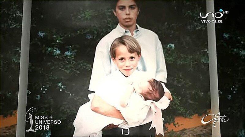 Анхела Понсе в детстве Анхела Понсе, до и после, испания, конкурс, конкурс красоты, мисс вселенная 2018, трансгендеры, участница