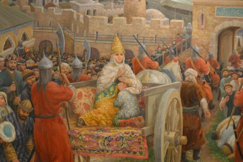 Гаремы Крыма и Казани: большая разница гарем, жена, казань, крымские ханы, невольницы, сераль, султан
