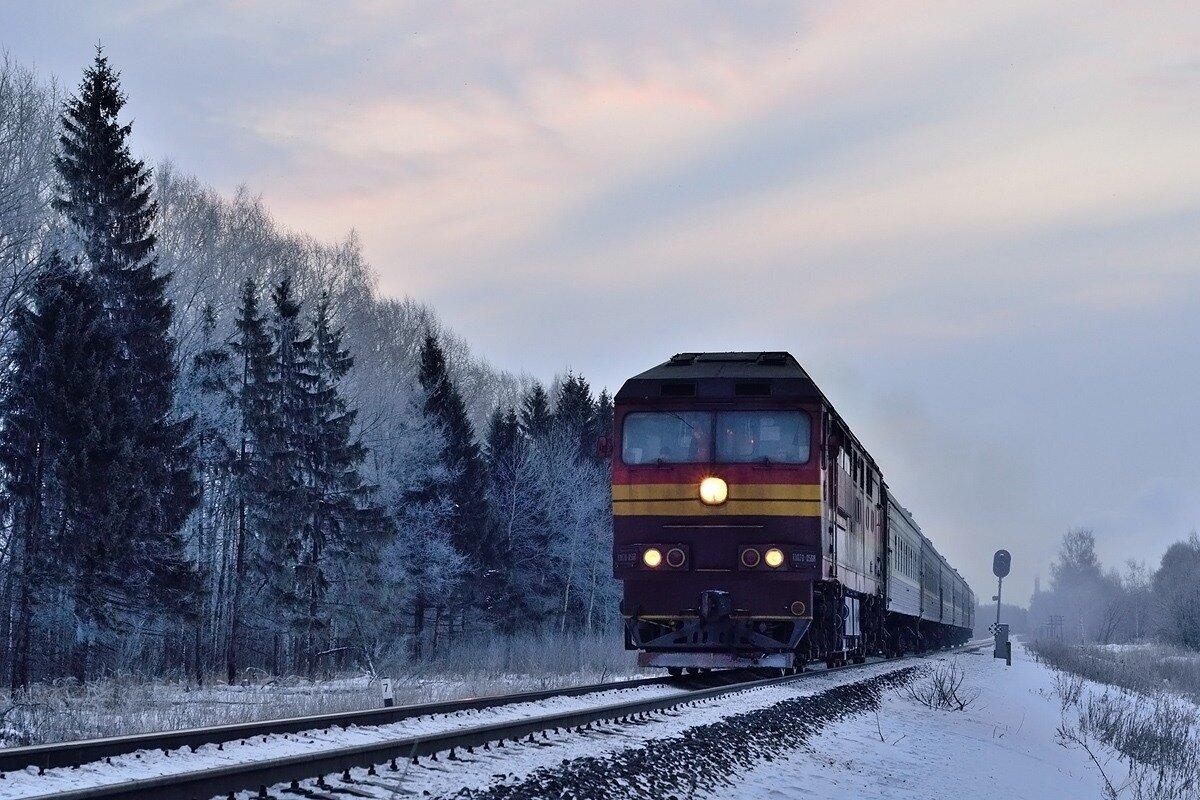 день фотографии поездов зимой этом мастер-классе