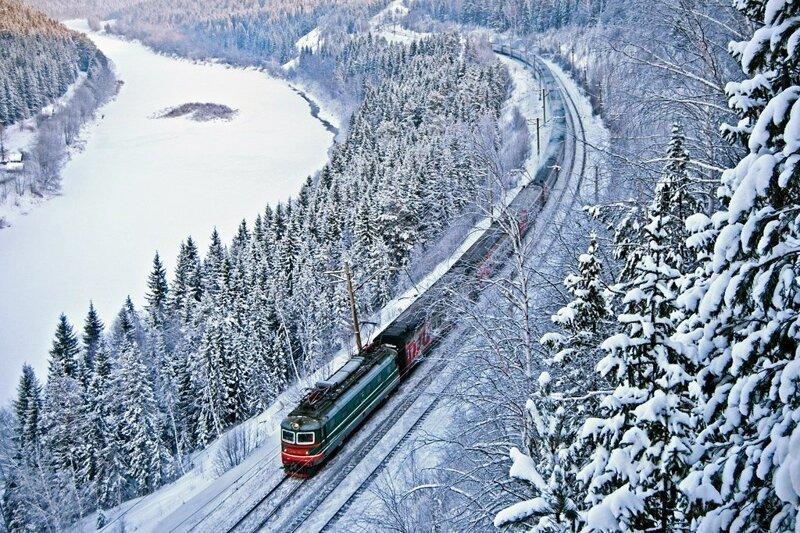 белой основе железная дорога картинки зимняя относятся
