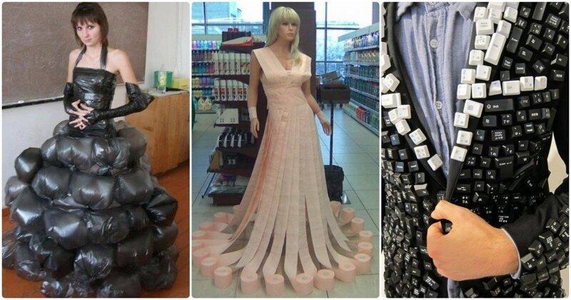 Даже не пытайтесь это понять: 15 трэшовых нарядов, которые придумали неадекватные люди горе модники, дизайн, мода, смешно, трэш, фото
