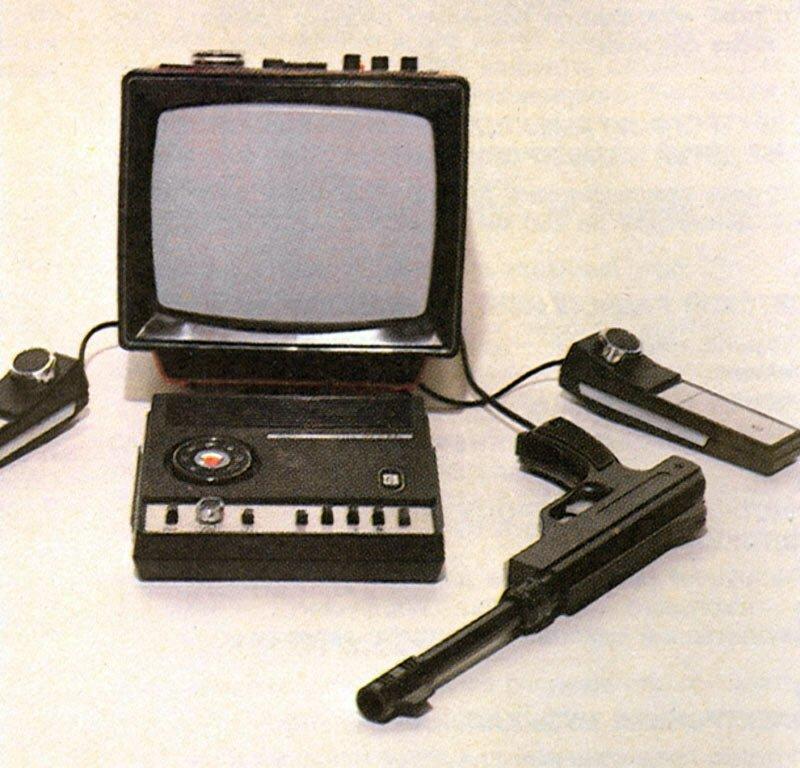 """6. Приставка """"Экси-Видео 02"""" выпускалась с 1979 года заводом """"Экситон"""". Можно было поиграть в теннис, футбол, сквош и, конечно же, пострелять детские игрушки, игрушки ссср, ностальгия, раритет, фото"""