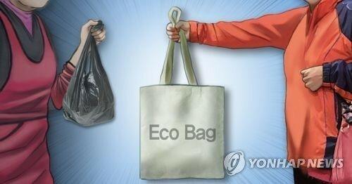 Картинки по запросу пластиковые пакеты Корея