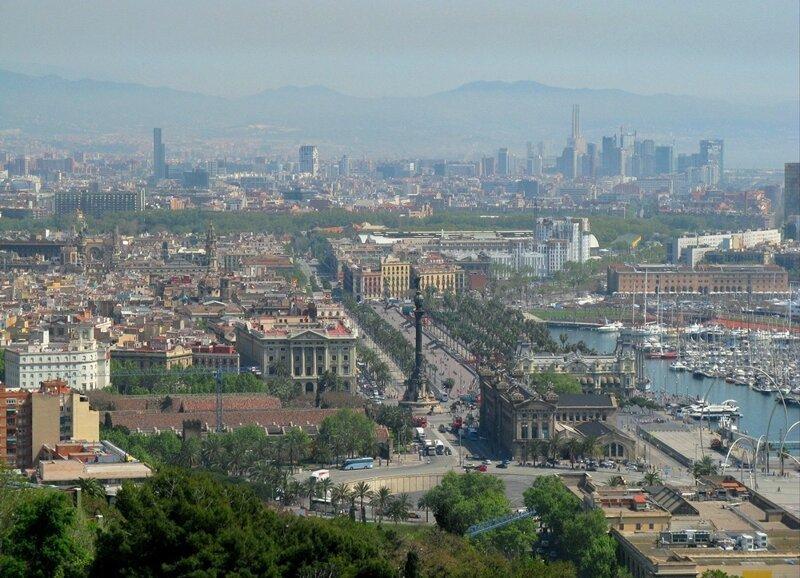Барселона в морском круизе