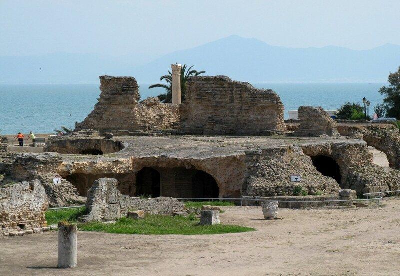 Тунис. Руины Карфагена