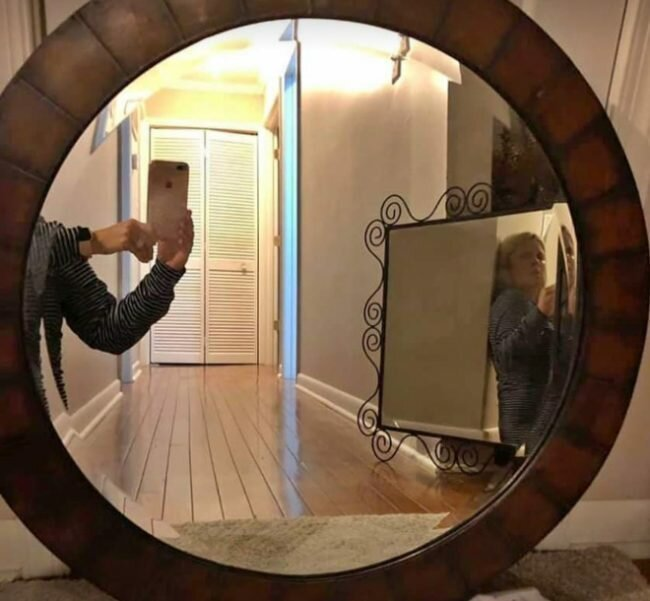 перед как фотографировать отражение в зеркале причин проблемы