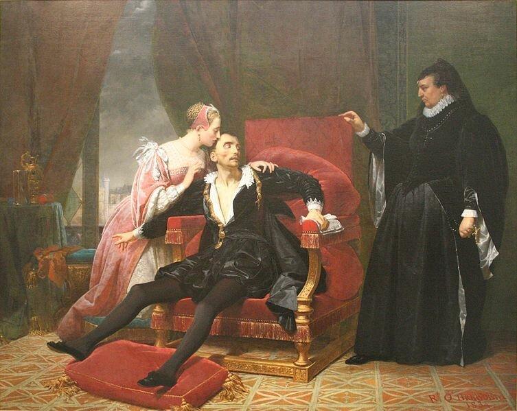 Копьем в глаз или... как умирали короли Франции история, факты, франция