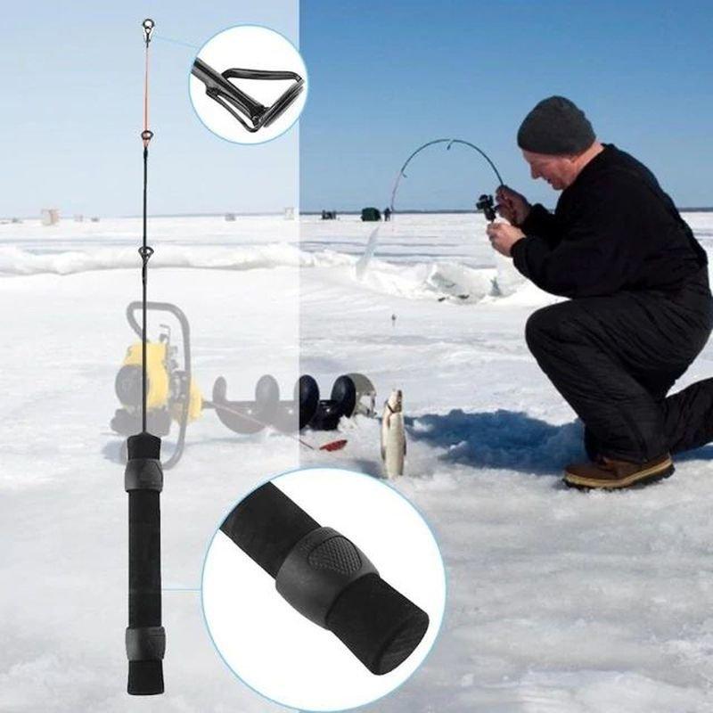 Противоскользящая удочка для зимней рыбалки