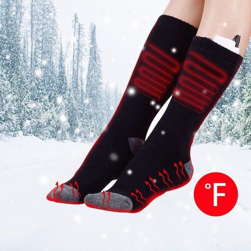 Термохлопоковые носки с подогревом