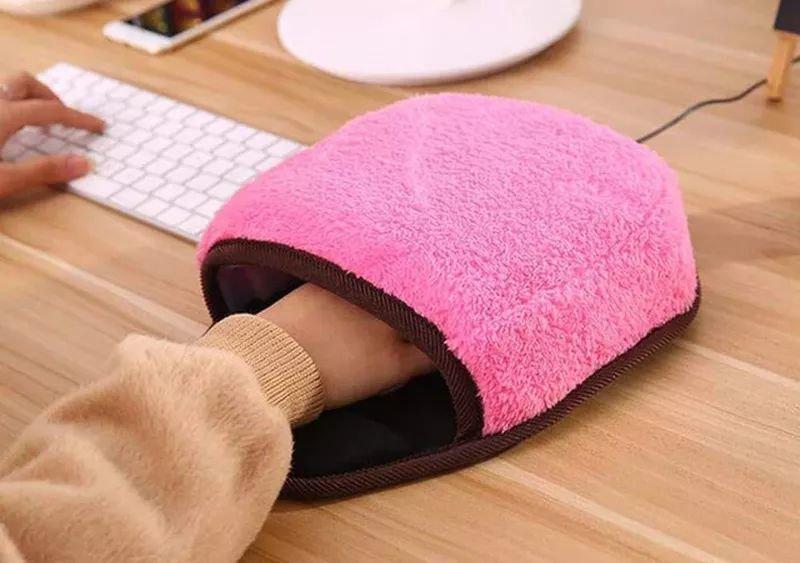 Usb-коврик для мыши со встроенным утеплителем