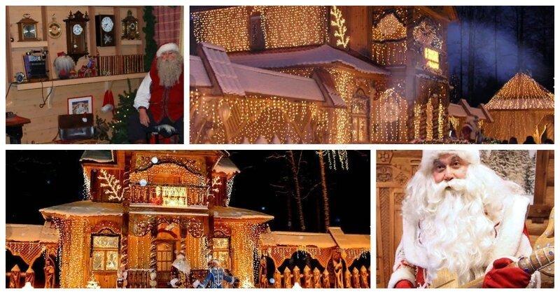 Где живут Деды Морозы разных стран?