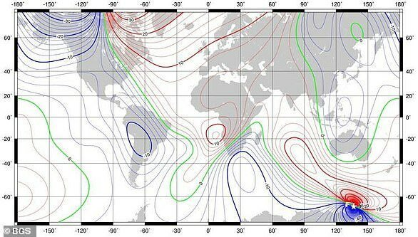 Северный магнитный полюс Земли убегает от навигаторов GPS, история с географией, навигация, наука, неожиданно, познавательно, северный магнитный полюс, смещение полюсов
