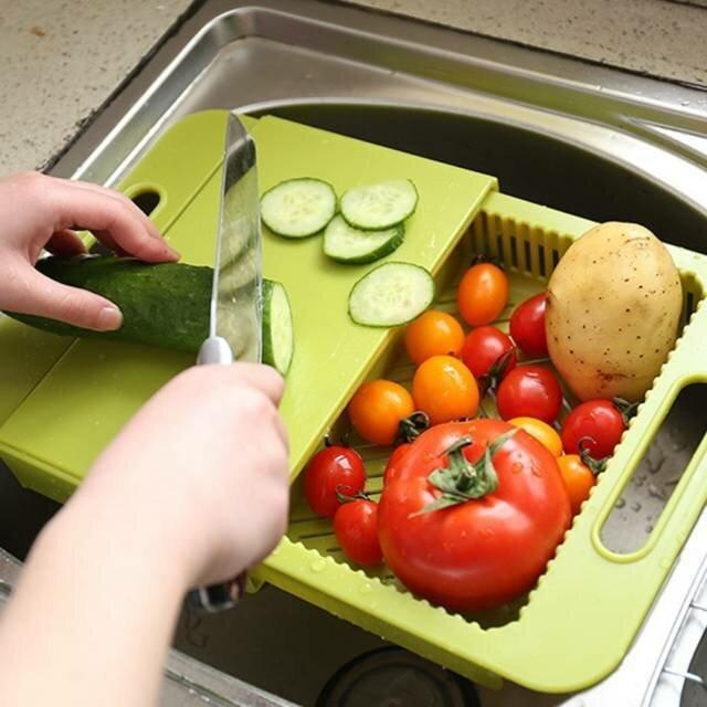 Доски для раковины - удобно и помыл сразу и нарезал Фабрика идей, интересное, креатив, кухня, разделочные доски, сделай сам