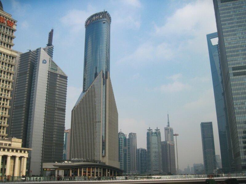 О небоскребах Шанхая