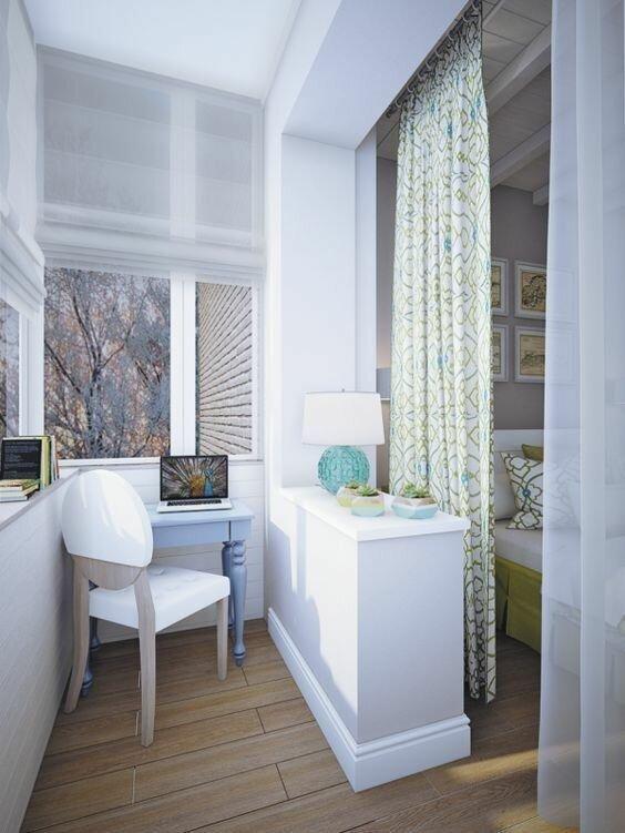 9. балкон, дизайн, идеи для ремонта, маленький балкон, ремонт, своими руками, фото