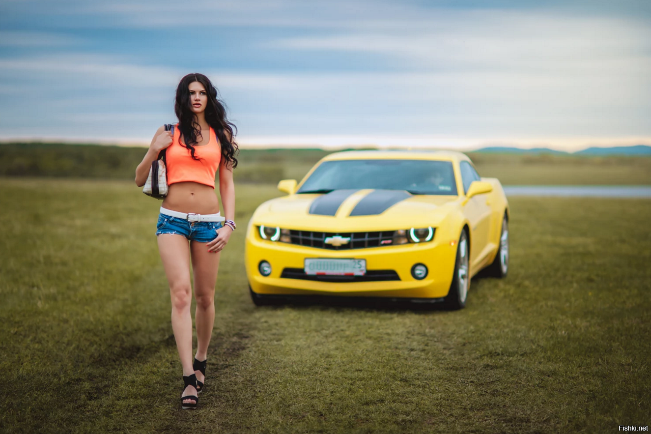 Hot girl car wallpaper