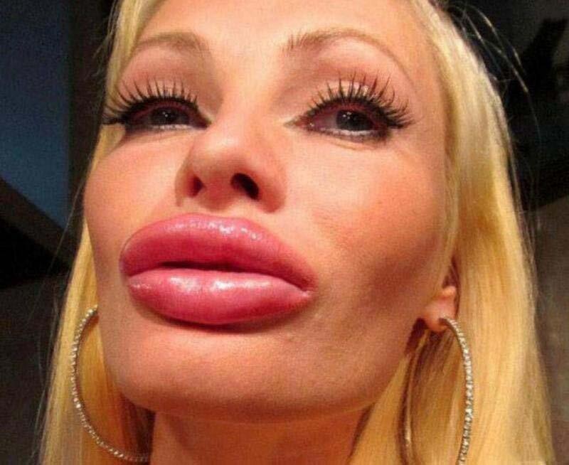 большие губы полов