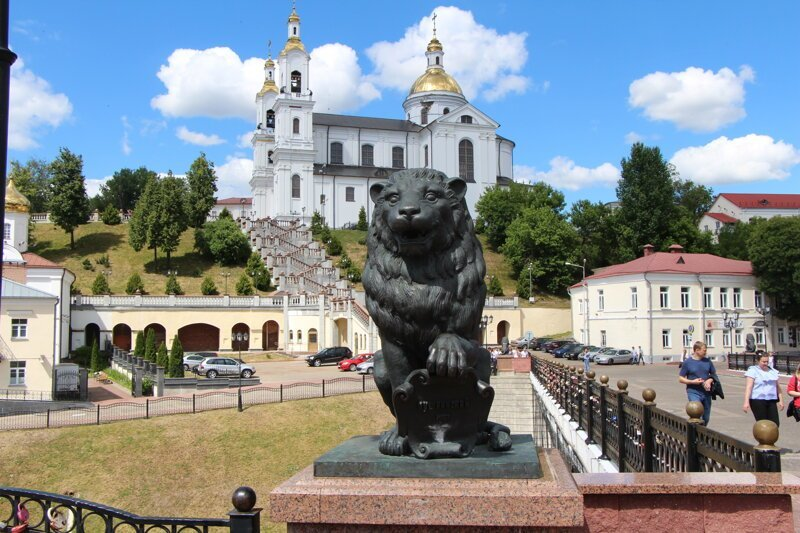 Витебск. Восточная Беларусь