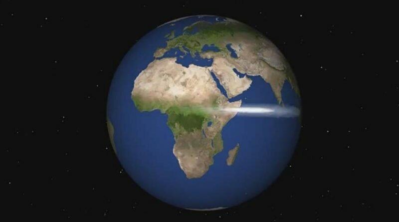 Ученый NASA показал «мучительную медленность» скорости света nasa, анимация, земля, наука, скорость света, ученые
