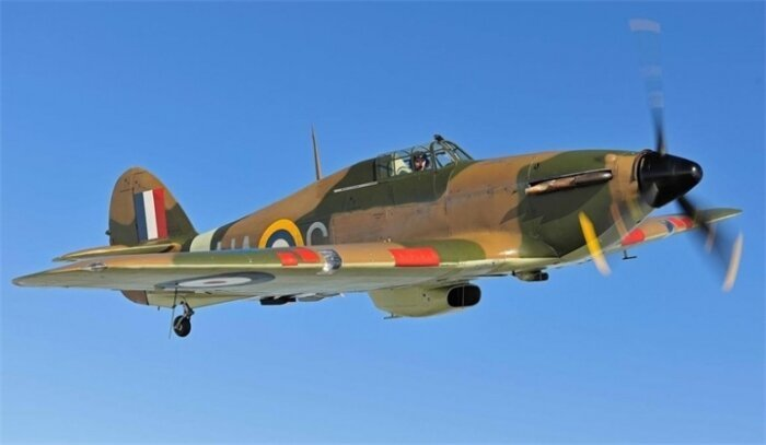 Истребитель Hawker Hurricane, $2,1-2,6 миллиона